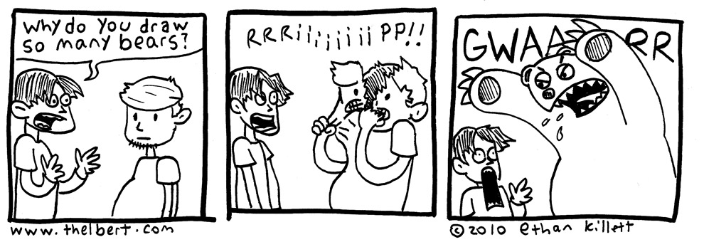 I barely got this comic finished on time.