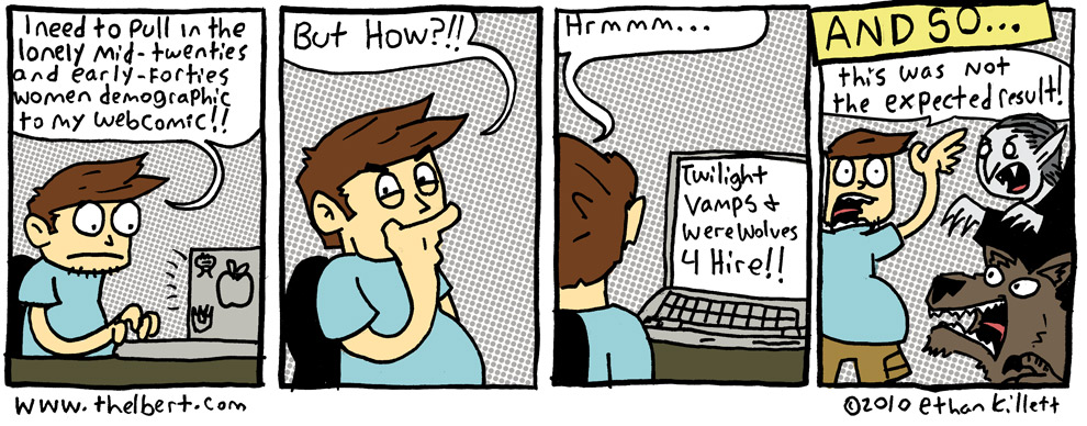 I hope this comic gets me my first hate email!